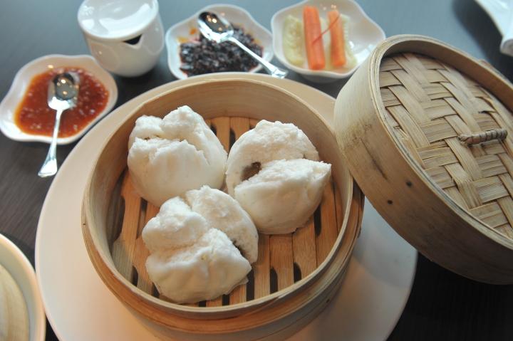 Chicken Cha sui buns