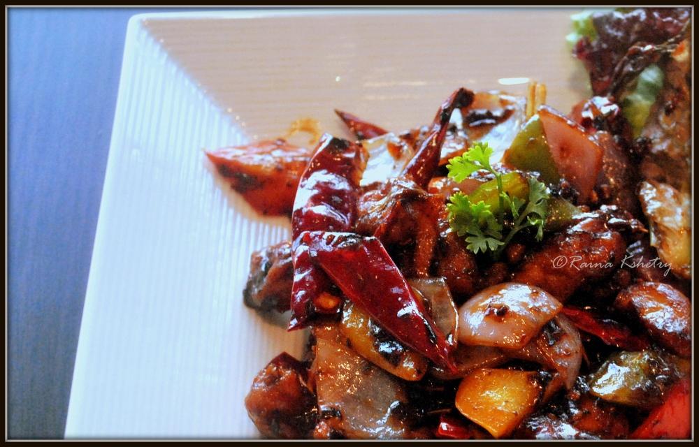 Chicken Szechuan Peppercorn