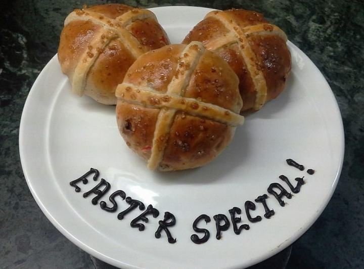 Easter Cross buns