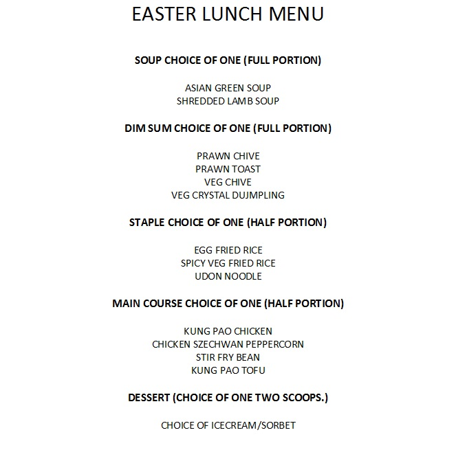 Yauatchaeaster menu