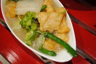 Fish and Brocolli Cantonese Style